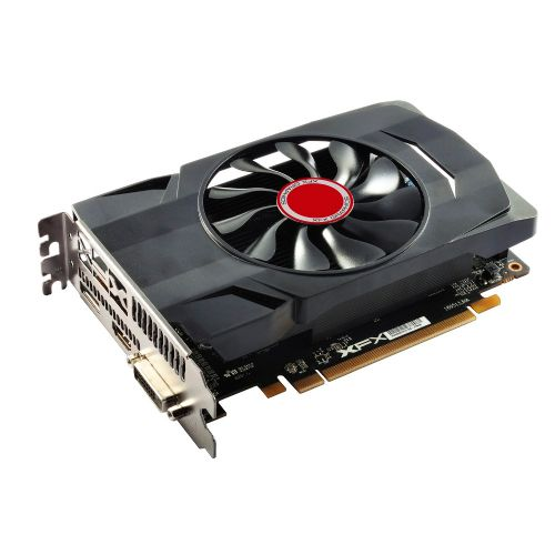 Placa de Video AMD Radeon RX 550 2GB DDR5 128bits XFX - ( 1x DVI / 1x HDMI / 1x DisplayPort) - RX-550P2SFG5