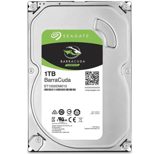 HD 1TB 7200RPM 64MB SATA3 (6 Gb/s) Seagate Barracuda ST1000DM010