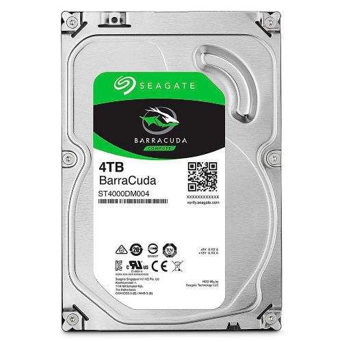 HD 4TB 5400RPM 256MB SATA3 Seagate ST4000DM004 (Barracuda)