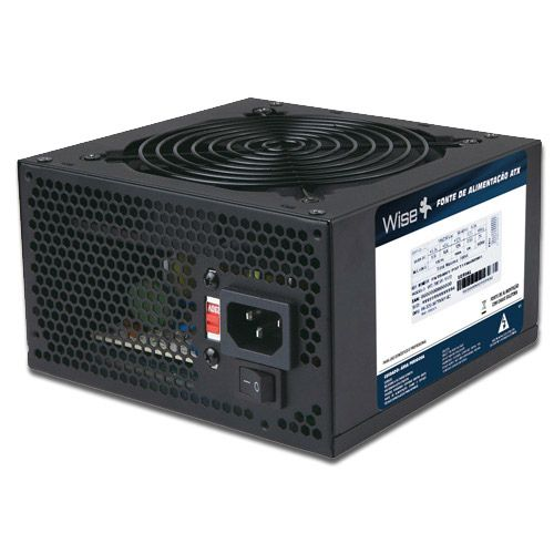 Fonte ATX 750w Real Wisecase WS-750 1X12