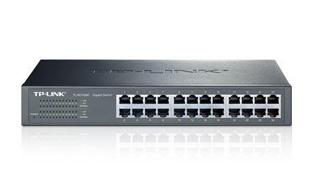 SWITCH 24 PORTAS 10/100/1000 TP-LINK TL-SG1024D RACK
