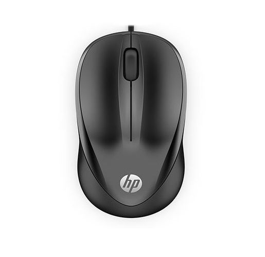 Mouse USB 1200dpi Preto HP 1000
