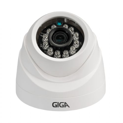 Câmera IP Dome IR20 2.8mm HD 720P - GIGA Security (GSIP1M20DB28)