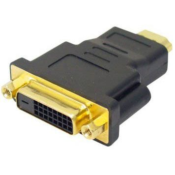 ADAPTADOR HDMI MACHO X DVI FEMEA STOCK