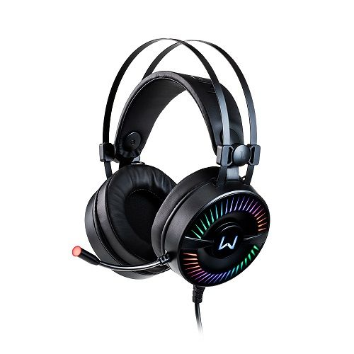Fone com Microfone GAMER RGB Warrior Flamma PH306